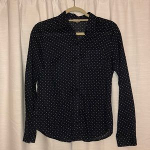 Ann Taylor Loft XS button up blouse